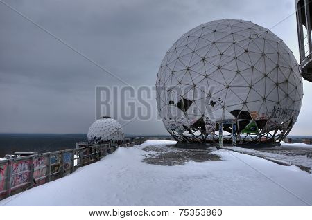 Teufelsberg Winter