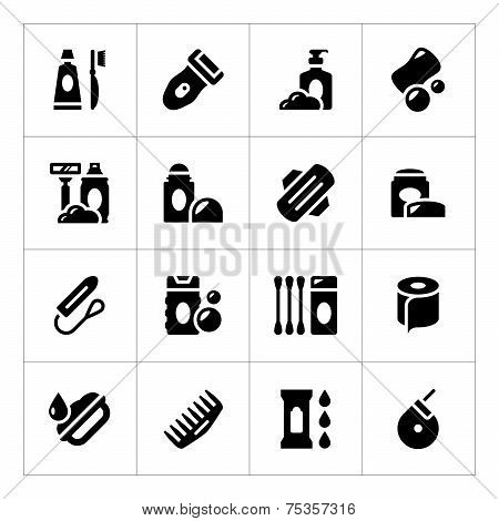 Set Icons Of Hygiene