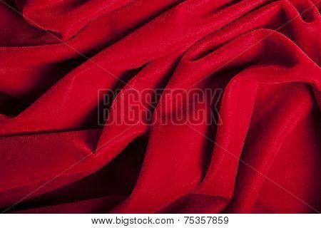 Abstract Red Velvet Background