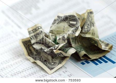 Tabla de dinero finanzas