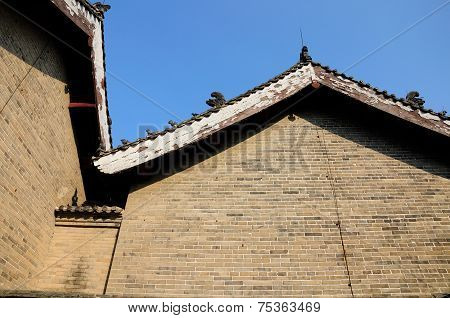 Asian Brick Building