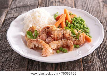 grilled langoustine