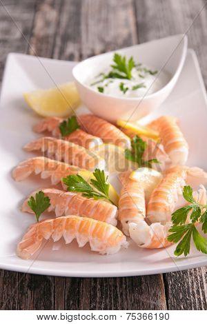 langoustine appetizer