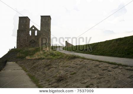 Reculver Towers Herne Bay Sea Defenses