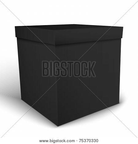 Black Package Box