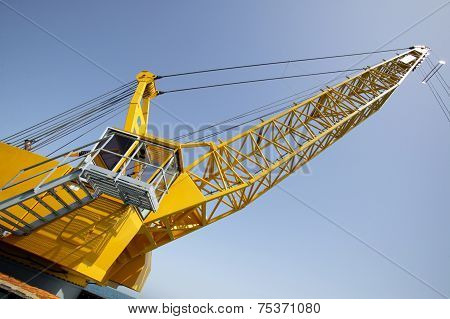 Tower Crane In The Construction Site