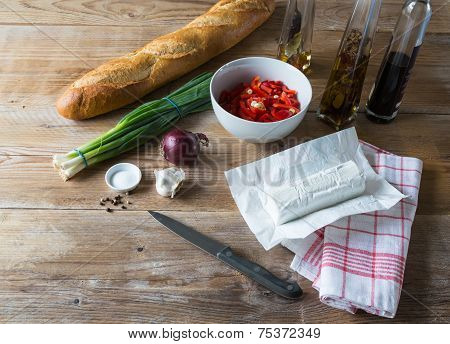 Bruschetta Ingredients