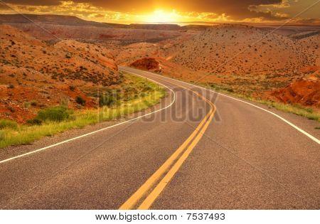 Scenic high way