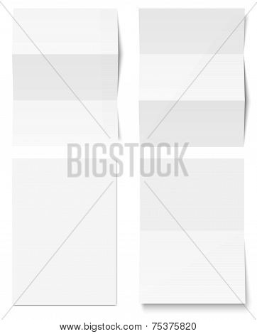 Collection Of White Writing Paper