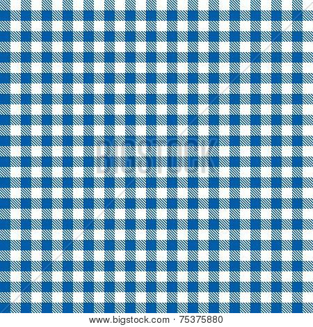 Checkered Tablecloths Pattern Vector