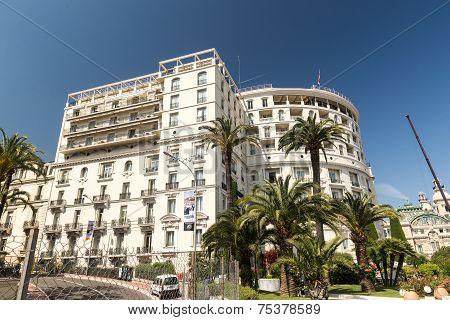 Hotel de Paris and gardens
