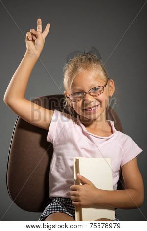 School Little Girl