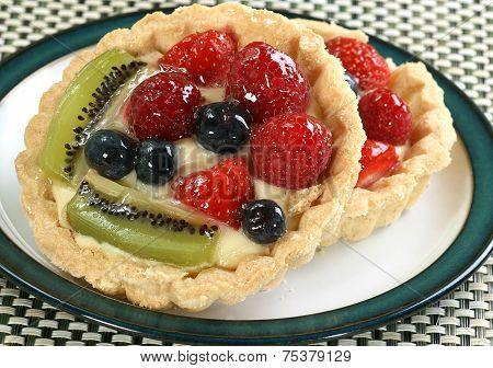 Mixed Fruit Tarts