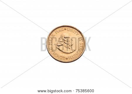 Gold Coin From South Arfica