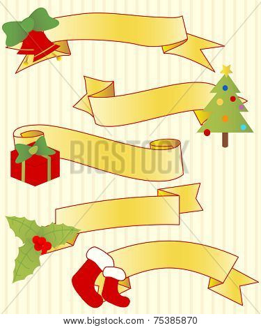 Five Christmas Ribbons.eps