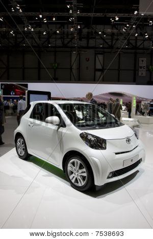 Toyota Iq At Geneva Motor Show