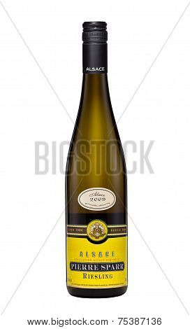 White Dry Wine Alsace Pierre Sparr Riesling 2009