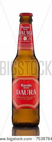Gluten-free Beer Estrella Damm Daura