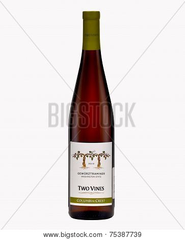 Dry White Wine Two Vines Gewurztraminer 2010