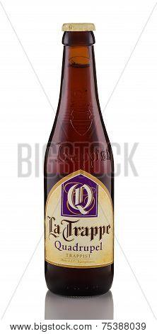One Bottle Of Beer La Trappe Quadrupel