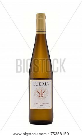 One Bottle Of Semi-dry Wine Lueria Gewurztraminer 2011