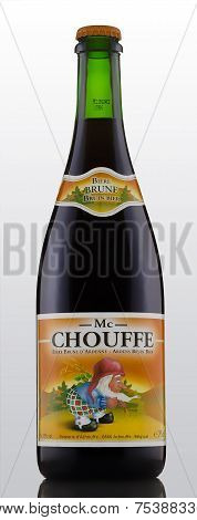 One Bottle Of Mc Chouffe Belgian Strong Ale Beer