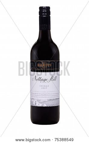 One Bottle Of Dry Red Wine Hardys Nottage Hill Shiraz 2009