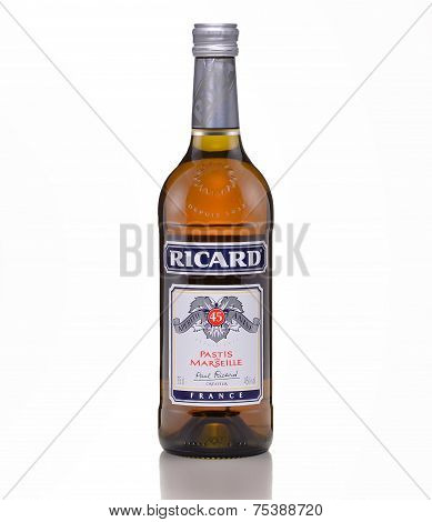 One Bottle Of Ricard Pastis De Marseille