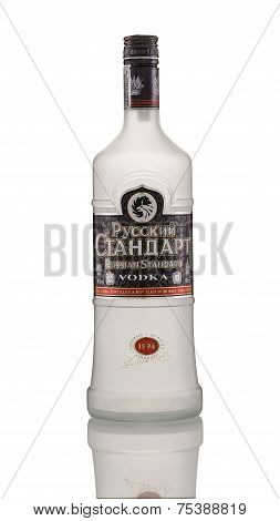 One Bottle Of Russian Standard Vodka