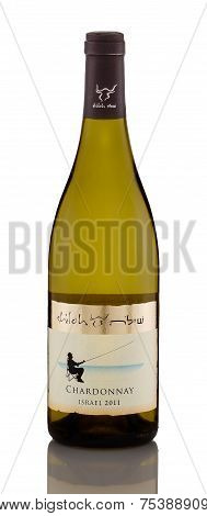 One Bottle Of White Dry Wine Shiloh Chardonnay 2011