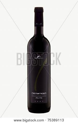 Dry Red Wine Tabor Merlot 2007