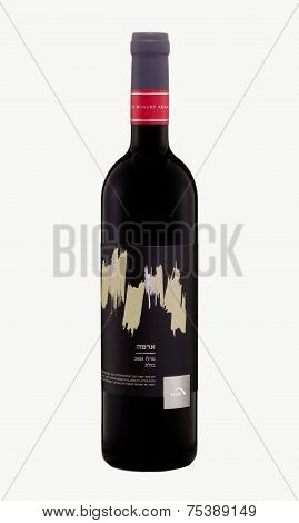 Red Dry Wine Tabor Adama Merlot Basalt 2008