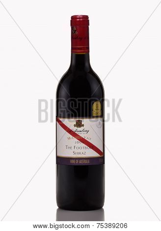 Red Dry Wine D'arenberg The Footbolt Shiraz 2008
