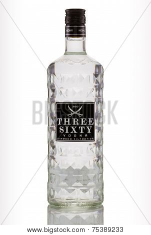Vodka Three Sixty Diamond Filtration