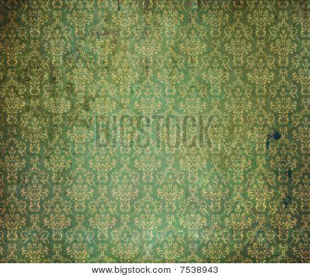 Old Green Wallpaper