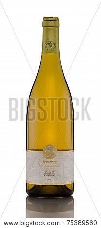 One Bottle Of Dry Wine Desert Kadesh Barnea 2011