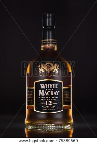 One Bottle Of Whyte & Mackay 12 Year Old