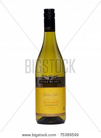 Dry Red Wine Wolf Blass Yellow Label Chardonnay 2011