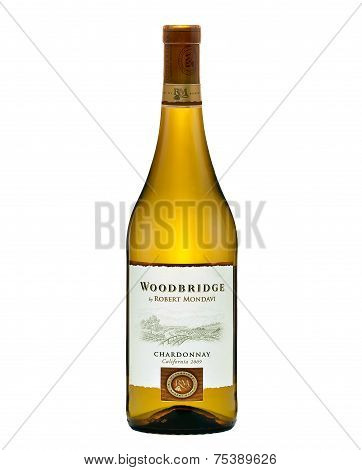 Dry White Wine Woodbridge Chardonnay California 2009