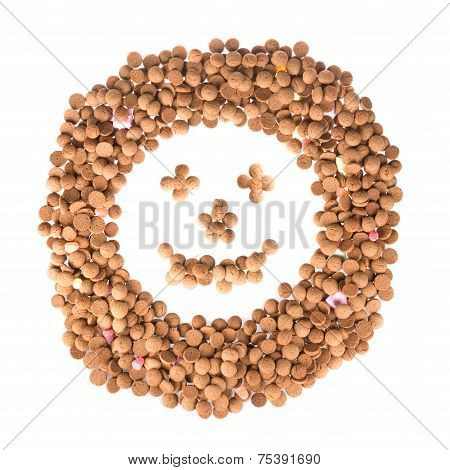 Happy Face Of Ginger Nuts
