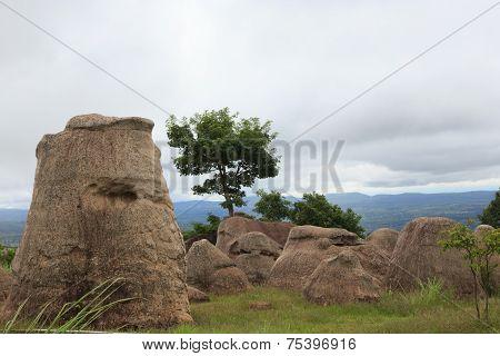 Stonehenge, Mor Hin Kao , Chaiyabumi , Thailand