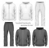 stock photo of hooded sweatshirt  - Men - JPG