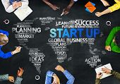 pic of globalization  - Multiethnic People Discussing Start Up Global Issues Concept - JPG