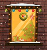 image of christmas wreath  - Christmas Decorations - JPG