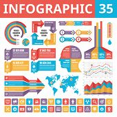 pic of web template  - Infographic elements 35 - JPG