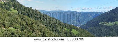 Blue sky over South Tyrol