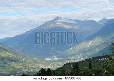 Villages in the Meran Country