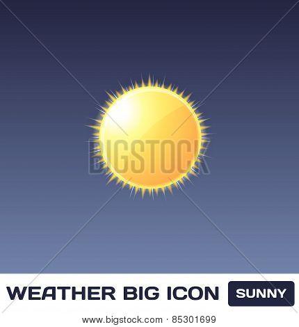 Vector Sunny Icon