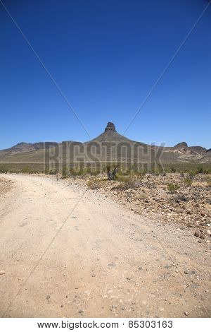 Mountain And Desert Landscape