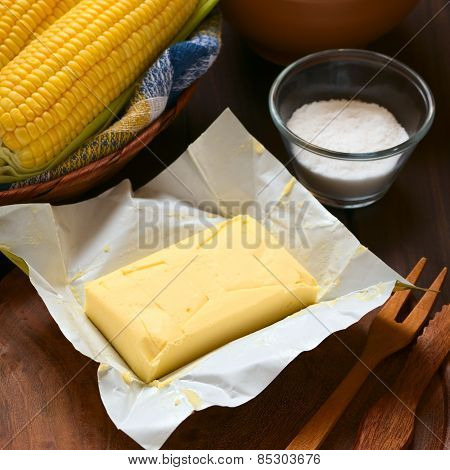 Butter with Salt and Sweet Corn